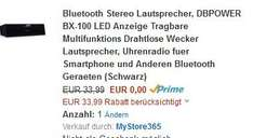 Bluetooth Speaker Free Amazon - AUSVERKAUFT