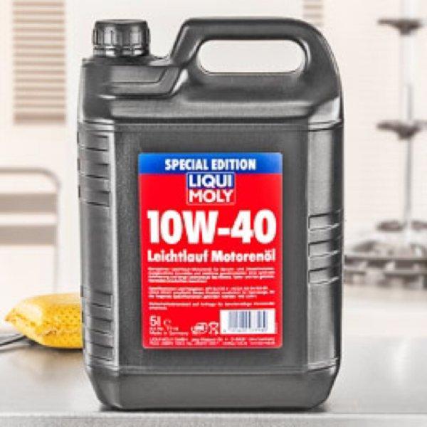 14,99€ Liqui Moly Leichtlauf-Motorenöl 10W-40 5L Kanister [Kaufland] ab 14.12