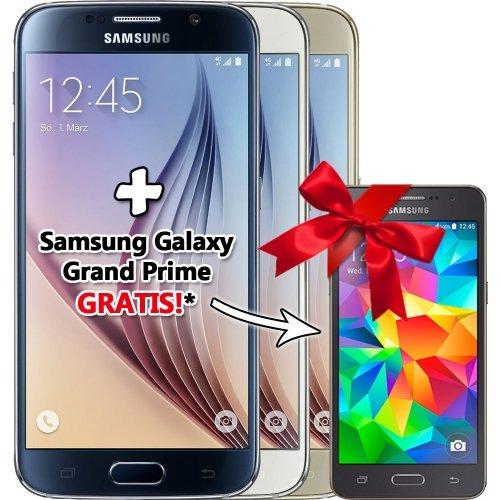 Ebay.de: Samsung Galaxy S6 G920F LTE 128GB alle Farben für je 519,90€ Versandkostenfrei (T-Mobile Geräte (APN/Zugangspunkte vorkonfiguriert, Logo)