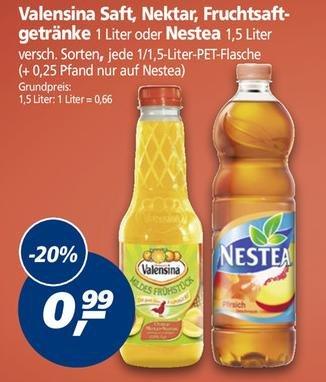 [REAL] Nestea 1,5 Liter für 0,49€ mit Coupon