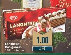 [Edeka / Marktkauf Rhein Ruhr] Langnese Königsrolle 1000ml für 1€ (Normalpreis 1,99€)