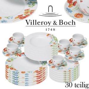 Kombiservice  für 6 Personen 30 tlg.Villeroy&Boch Group Vivo Sweet Time Gallo Design auf EBAY für 54,99€ + 4,95 VK NEU