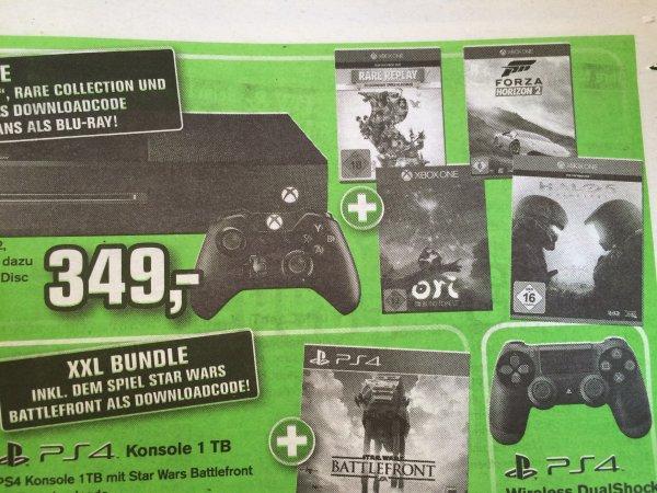 [Alpha Tecc Lokal evtl. Bundesweit?] Xbox One 1TB Bundle