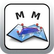 [iOS] Measure Map aktuell kostenlos statt 1,99€ - Ausmessen von Distanzen, Flächen, Umfängen