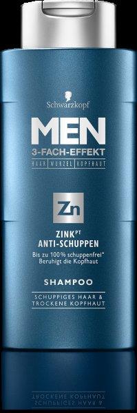 (Müller) Schwarzkopf MEN 3 -Fach Effekt Shampoo ver.Sorten für 1,54€ statt 2,75€
