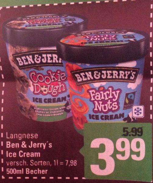 (Marktkauf Minden-Hannover)Ben & Jerry's ICE Cream für 3,99€