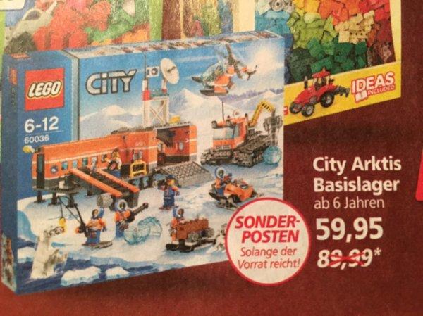 Real online. Lego City Arktis Basislager 60036