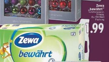 Edeka Rhein Ruhr    ZEWA Toilettenpapier für 1,49 incl Cashback  /  8 x 150 Blatt Packung