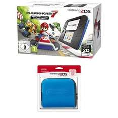 Nintendo 2DS Mario Kart 7 Bundle mit extra Tasche (Amazon.fr) €93,27