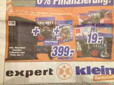 PS4 1TB incl. Just Cause 3 & CoD BO3 399€