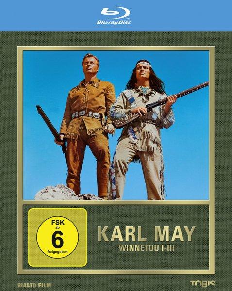 Winnetou I - III,  Trilogie auf Blu-Ray für 17 € statt 22 €, @Alphamovies