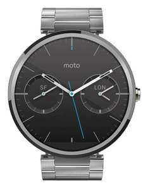 [notebooksbilliger.de] Motorola Moto 360 Metall Silber Smartwatch + 2. Ladestation für 169,98€ inkl. Versand
