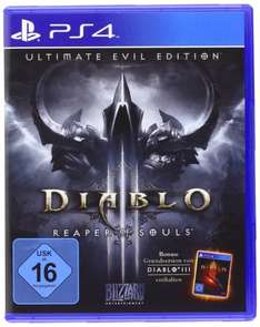 (Saturn.de) Diablo III - Ultimate Evil Edition PS4/XboxOne für 21,98€