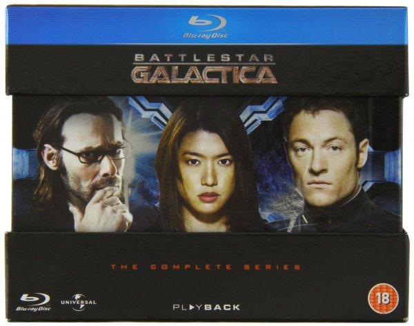 Battlestar Galactica - The Complete Series Blu-Ray (O-Ton) @Amazon.co.uk