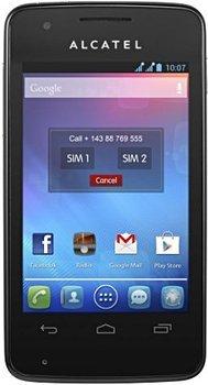 eBay WOW: Alcatel OneTouch 4030X S'Pop Schwarz (Ohne Simlock) Smartphone @29,99 Euro inkl. Versand