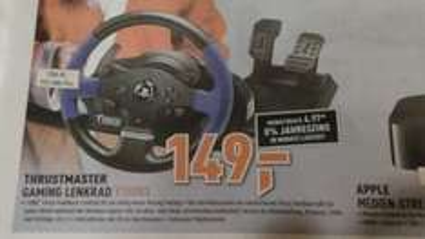 (Lokal Berlet Ennepetal / Hagen ?) - Thrustmaster T150 FFB-Lenkrad für PS4, PS3 und PC