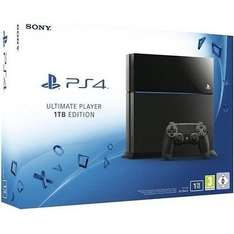 Sony PlayStation 4 PS4 black Ultimate Player 1TB Edition
