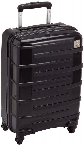 [3% Qipu] Mano M120-01 Super Light 4 Rollen Reisetrolley 55 cm (TSA-Zahlenschloss / Bordgepäck) in schwarz für 39,95€ frei Haus @Dealclub