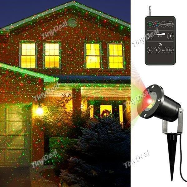 "Outdoor Laserlicht ""Weihnachts Stern Projektor"" 58,65€ inkl. EuSt od. 60,97€ inkl. EuSt & EU EXPRESS @tinydeal"