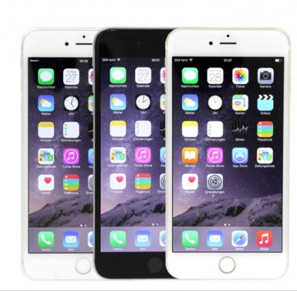 [ebay asgoodasnew] iPhone 6 Plus 64GB in 3 Farben | generalüberholt mit 12 Monate Garantie | ohne Simlock, mit EU-Adapter | mit 10fach-Punkte für 521,55