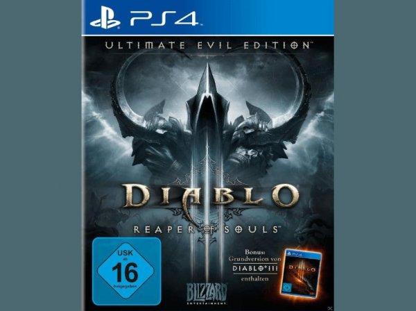 (libro.at) Diablo III: Reaper of Souls - Ultimate Evil Edition PS4 / PS3 / XBOX / PC  für 19,99 Euro
