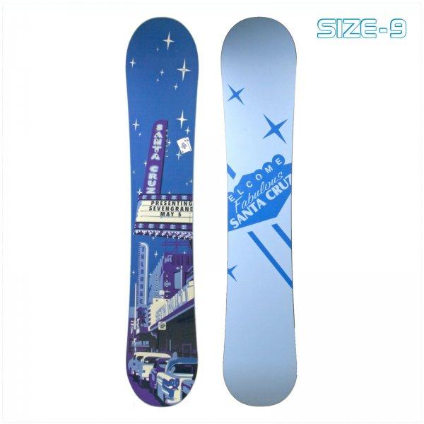 Santa Cruz Snowboard für unter 100 € / Gr. 155 cm / nur noch 2 Stück lieferbar
