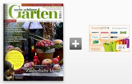 Mein schöner Garten im Halbjahresabo für effektiv nur 4€