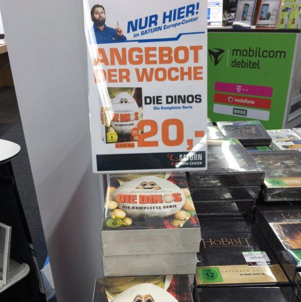 [Berlin] Die Dinos - Die komplette Serie (9 DVDs) im Saturn Europa-Center für 20€