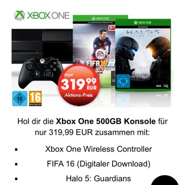 Xbox one + Halo 5 + FIFA 16