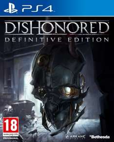 [amazon.co.uk] Dishonored The Definitive Edition PS4 und Xbox One für 21,16€ inkl. Versand
