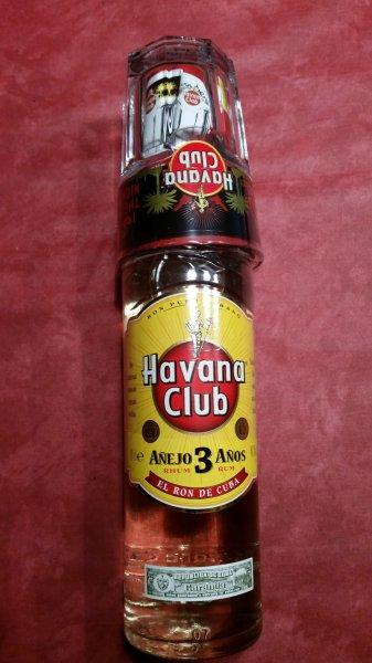 [Treff 3000] Havana Club 3 Anos 0,7l inkl. Glas für 9,99€