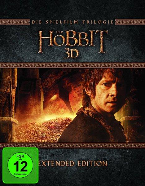 Der Hobbit Trilogie Extended Edition [Blu-ray] für 49,97€, [Blu-ray 3D] für 64,97€ oder [DVD] für 39,97€ @Amazon