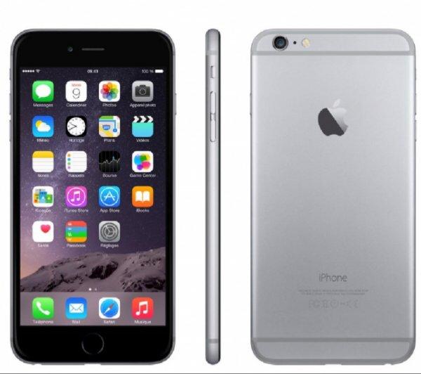 APPLE iPhone 6 Plus-128GB-4G-spacegrau [Pixmania]