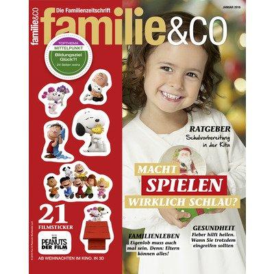 """1 Jahr kostenlos die Zeitschrift """"Familie & Co."""" lesen - ohne weitere Verpflichtungen"""