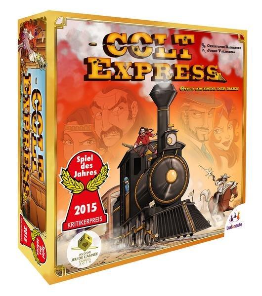 Colt Express - Spiel des Jahres 2015 bei Thalia.de für 8,47 €