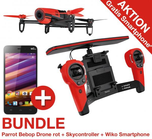 [reichelt.de] Parrot Bebop Drone mit Skycontroller + Wiko Smartphone