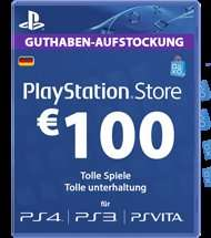 [Rakuten] 100€ PSN Guthaben für 73€ (Masterpass)