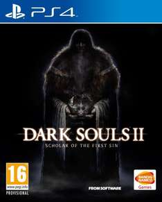 Dark Souls 2: Scholar of the First Sin PS4 [amazon.co.uk]
