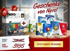 Windows Softwarepaket  - mit 8 Vollversionen (Nero Weihnachtsdeal)