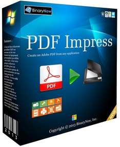 [Giveaway of the day] PDF Impress 10