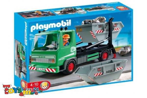 Playmobil 3318 i+s Containerdienst T&M24 14,99€