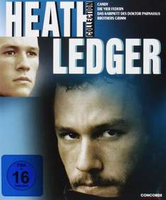 Heath Ledger Collection [Blu-ray] @amazon prime (4Disc/Filme) Digipack FSK 16
