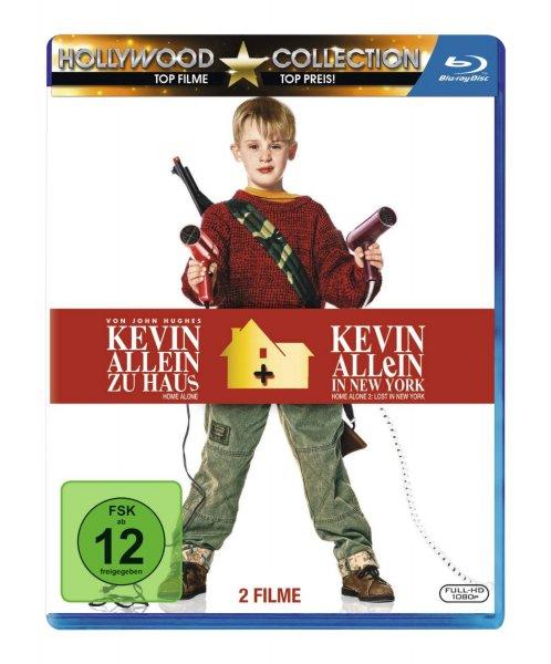 Kevin - Allein zu Haus Box 1 & 2 [Blu-ray] für 9,97€ bei Amazon (Prime)