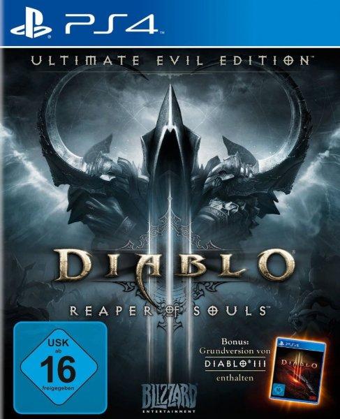 [Redcoon] Diablo 3 - Ultimate Evil Edition (Hauptspiel + Addon) (PS3 + PS4) für 19,99€ versandkostenfrei