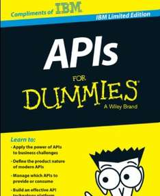 "Gratis eBook ""APIs for dummies"""