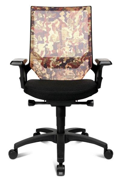 Topstar Bürodrehstuhl Motiv Camouflage