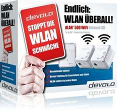 [Ebay WOW] Devolo dLAN 500 WiFi Network Kit für 99,90 Euro