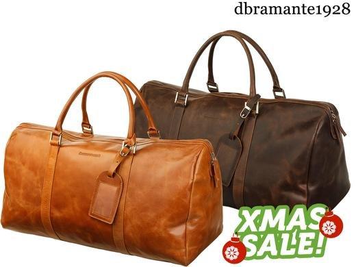 (iBood.de)  dbramante1928 // 19twenty8 Kastrup Weekender Bag - sportliche Leder Reisetasche