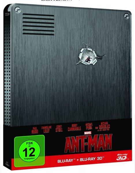 (Media Markt Mainz) Ant-Man (3D Blu-ray Steelbook) für 22€