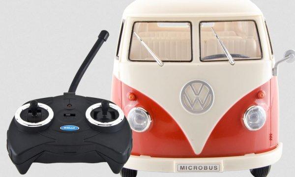 [buyfox.de] Welly VW T1 Bully 1963 Rot RC Funkauto 1/16 für 19,99 €
